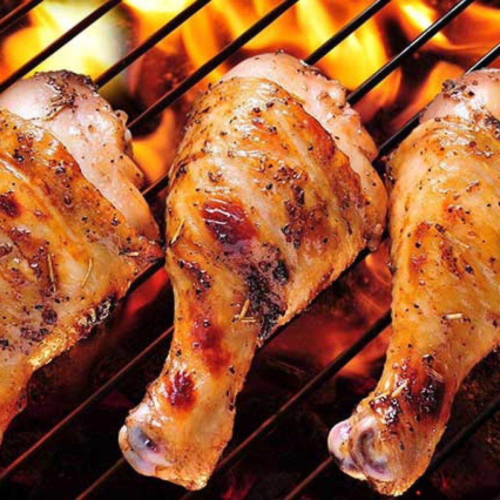 Шашлык из голени курицы рецепт
