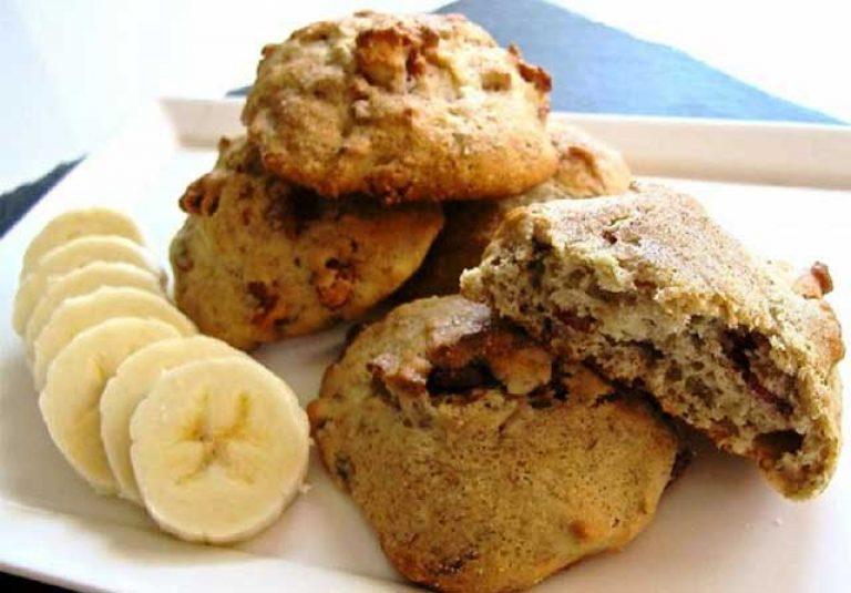Печенье без муки с бананом рецепт