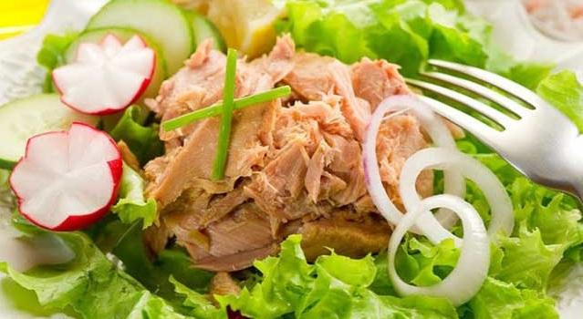Пп рецепты салатов с тунцом консервированным