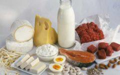 Продукты, содержащие полезный белок