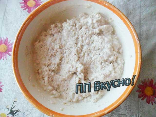 Рецепт пп-печенья из овсяных хлопьев «Очень вкусное диетическое»