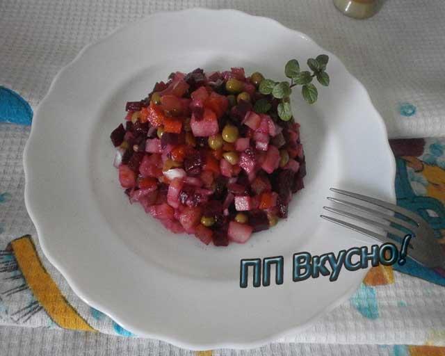 Диетическое блюдо венегрет
