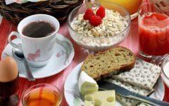 Готовый рацион питания на 1400-1500 ккал со списком продуктов на неделю