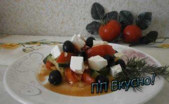 Как в домашних условиях приготовить греческий салат с фетой