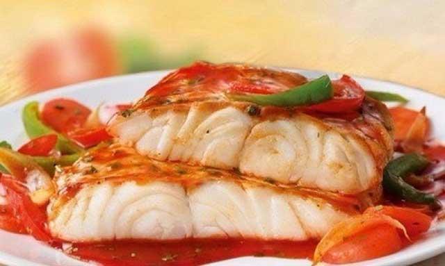 Диетическая рыба с овощами рецепт приготовления