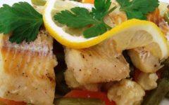 Как стушить в мультиварке рыбу с овощами