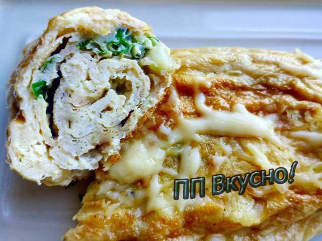 Тамагояки омлет японский рецепт с фото пошагово