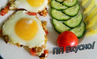 Как в микроволновке пожарить яйца