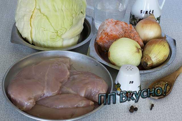 Тушеная капуста с курицей: 4 самых классных пп-рецепта с фото