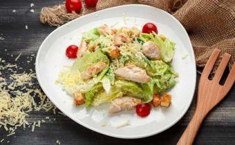 Цезарь салат диетический