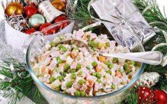 Готовим правильный и полезный салатик оливье