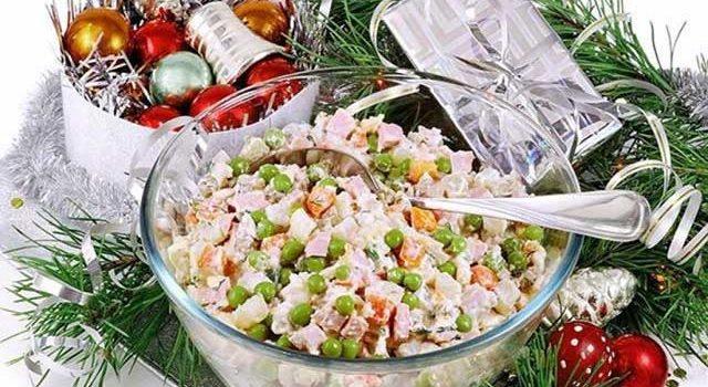 рецепты салата оливье с куриной грудкой