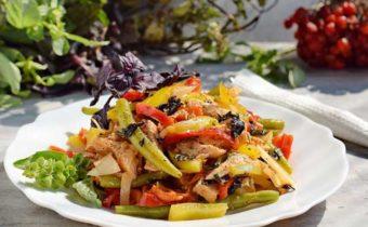 ПП рецепты диетических салатов с куриной грудкой на праздник и на каждый день