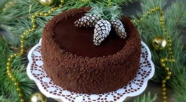Диетический торт для праздничного стола 🎂