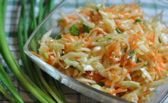 Морковно-яблочный салат для похудения - рецепт пошаговый с фото