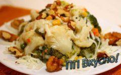Идеальные варианты салатов из цветной капусты и брокколи