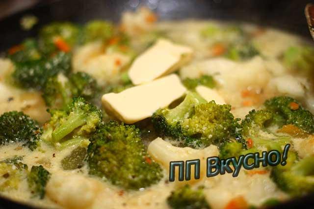 Вкусные и полезные салаты из брокколи и цветной капусты