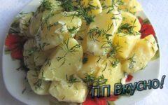 как диетично и вкусно приготовить молодую картошку с укропом