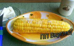 Все способы пп-варки початков кукурузы: