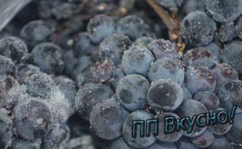 Всё про правильную заморозку винограда
