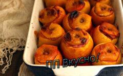 Как приготовить яблоки, фаршированные творожной начинкой