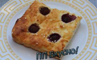 ПП пирог по кето-рецепту из творога и кокосовой муки