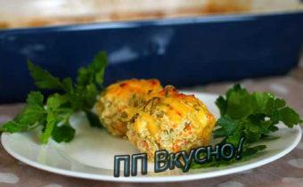 Вкусные диетические котлеты из курицы и творога