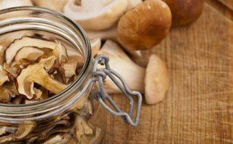 Как правильно высушить белые грибы на зиму