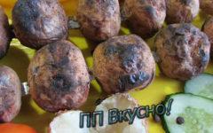 Как приготовить диетическую картошку на мангале
