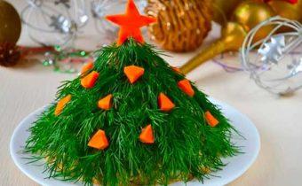 Низкокалорийные новогодние салаты - полезно, вкусно и просто