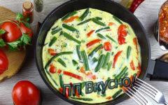 10 рецептов приготовления диетического омлета