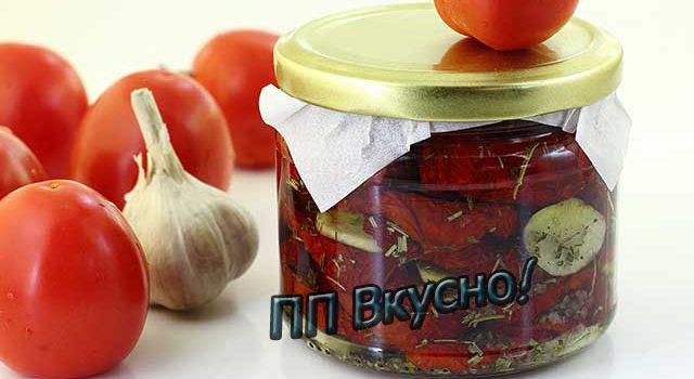 Как завялить помидоры в электросушилке