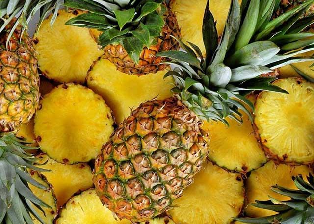 Как чистить ананас в домашних условиях