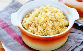 Вкуснейшая пшеничная каша, сваренная на воде.