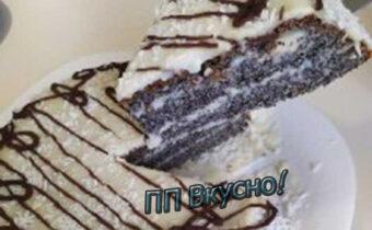 Полезный и очень вкусный торт