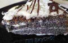 Легкий торт без сахара и муки