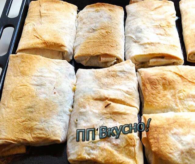 Пирог из лаваша с сыром, творогом и зеленью, пошаговый рецепт на 130641 ккал, фото, ингредиенты - Эллиса