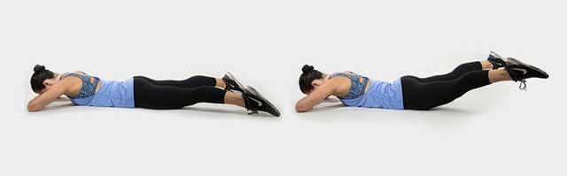 Упражнения от апельсиновой корки