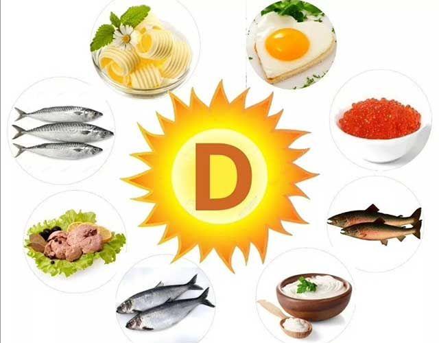 Витамин Д и продукты