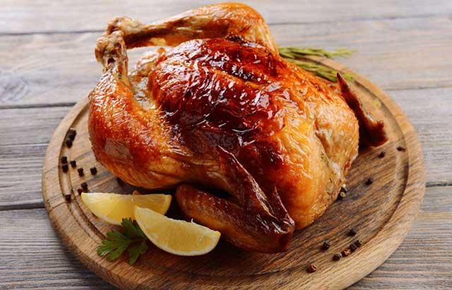 Курица на НГ (пп рецепт)