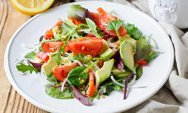 Постный пп-салат